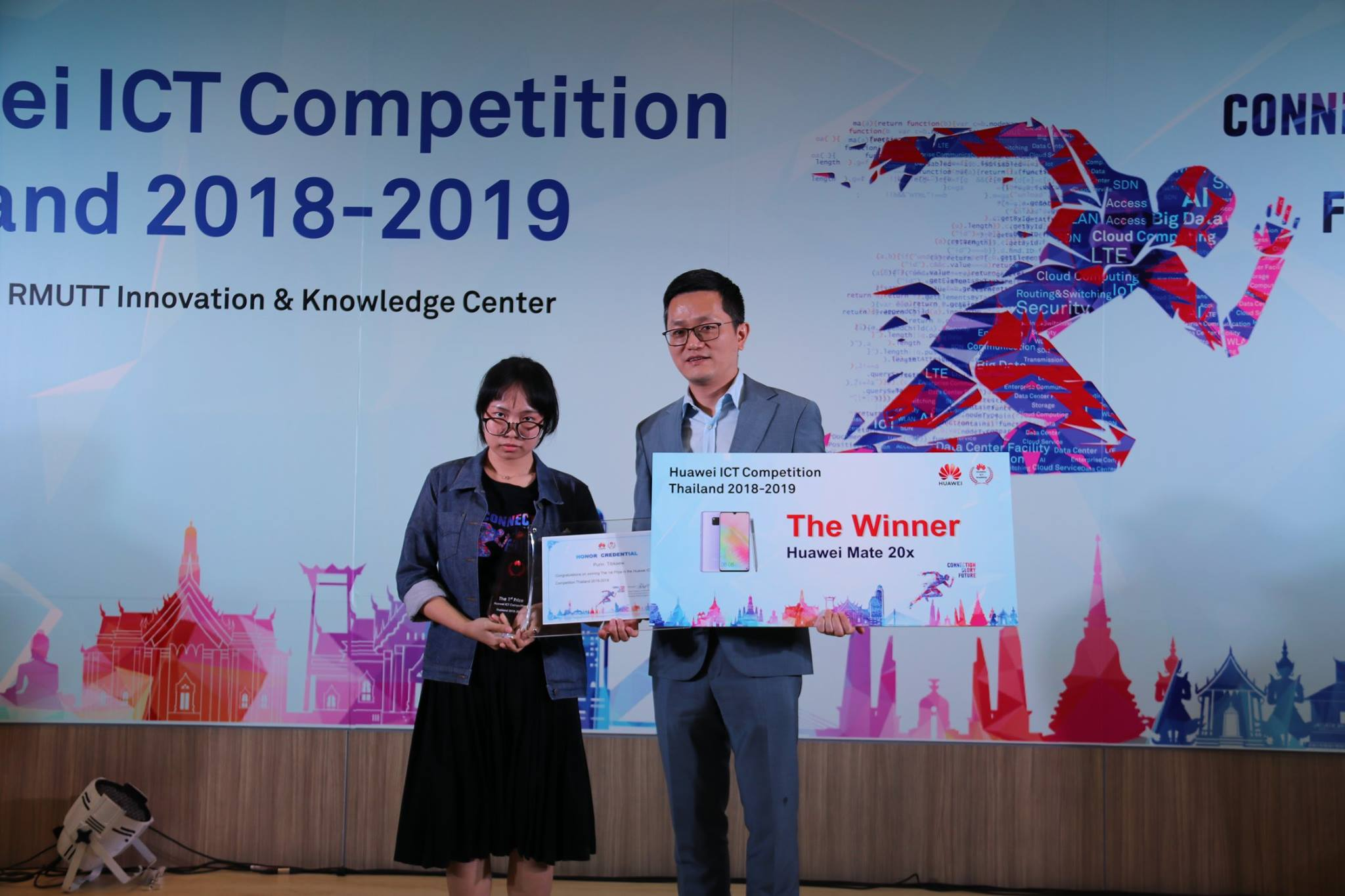 Huawei ICT Competition Thailand 2018 -2019