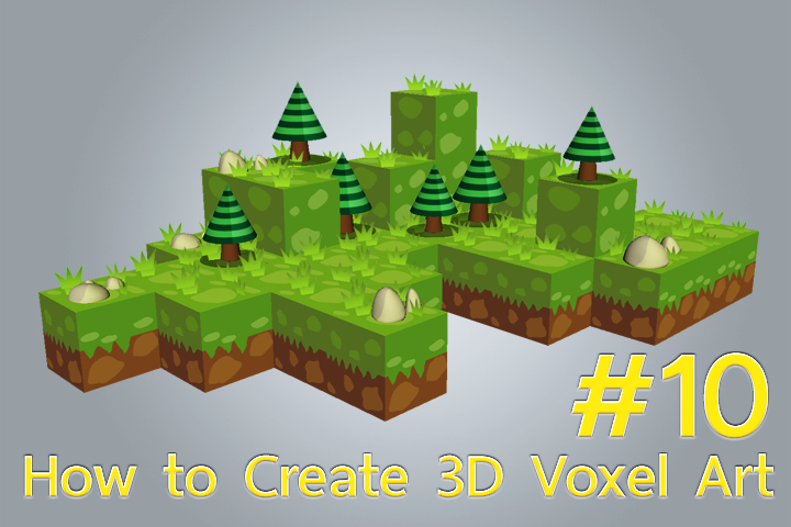 Create 3D Voxel Art